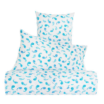 Paisley bed linen set in 100% cotton