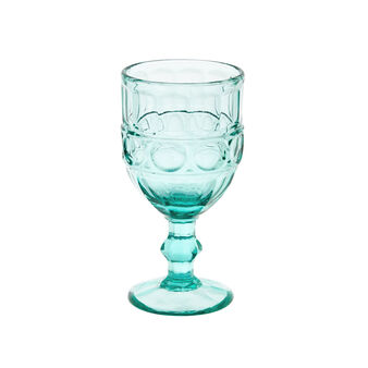 Calice vetro molato colorato