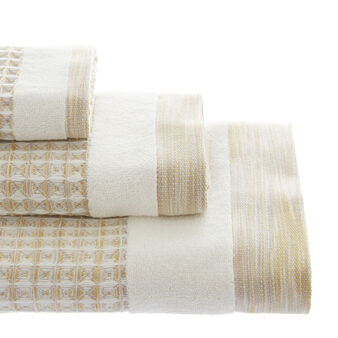 Waffle weave face cloth in 100% cotton