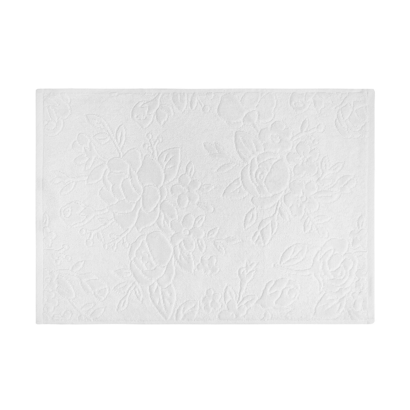 100% cotton towel with floral design