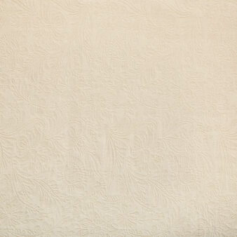 Copriletto puro cotone motivo ornamentale
