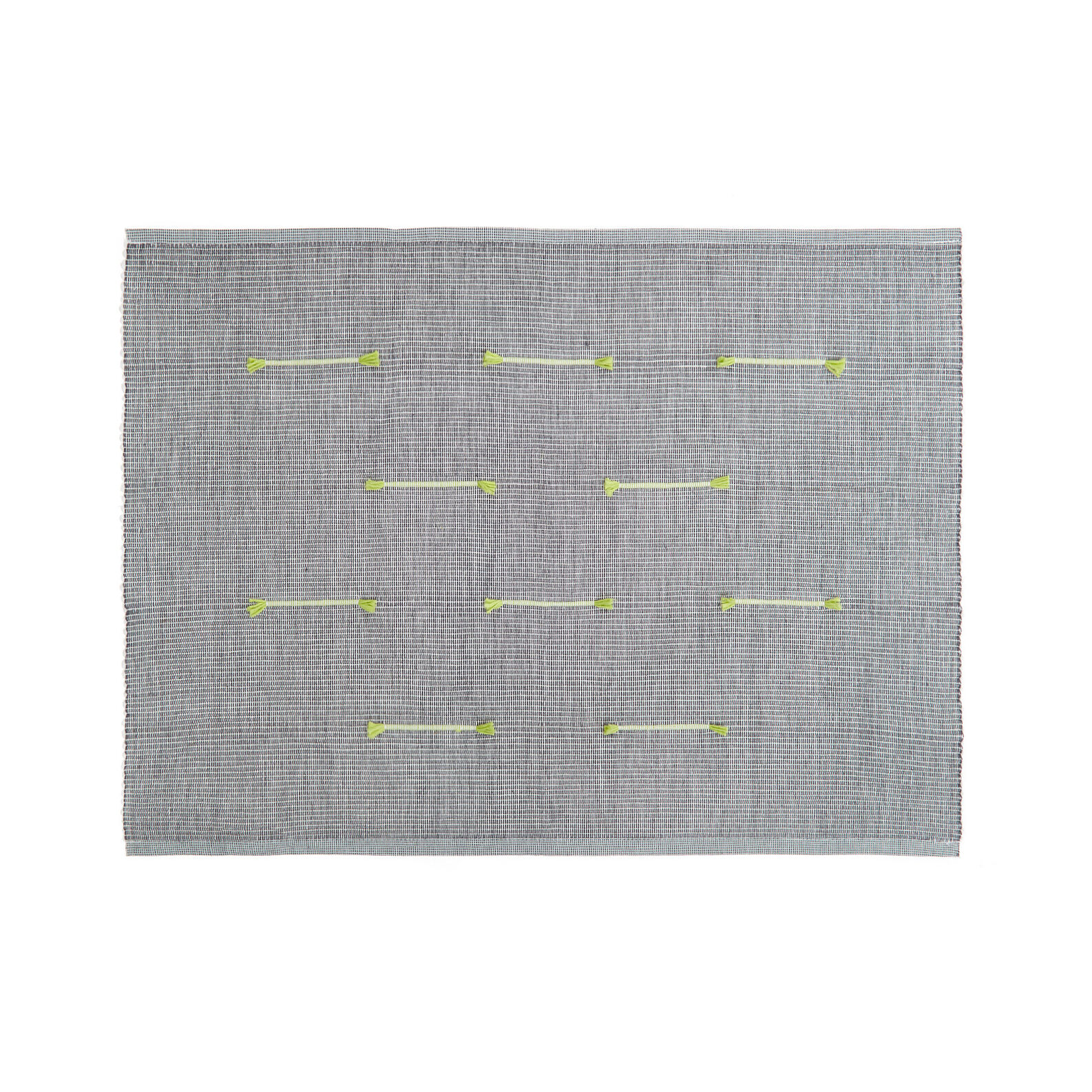 100% cotton table mat with dobby weave