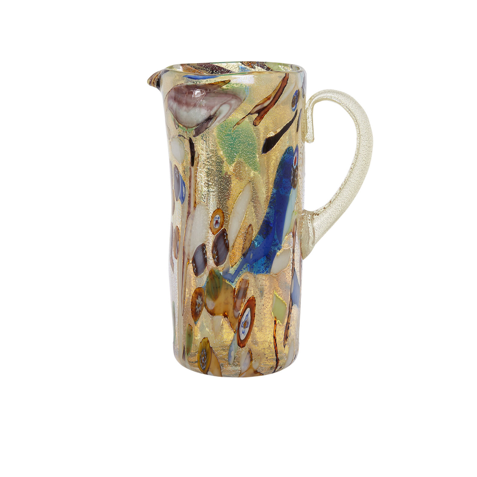 Caraffa vetro di Murano Mosaico