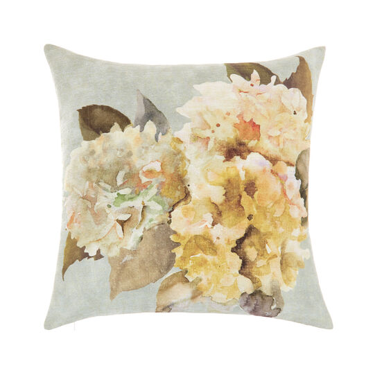 Cuscino stampa floreale 45x45cm