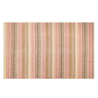 Handmade bohemian-style rug