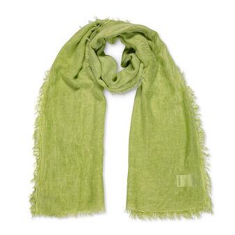 Solid colour bamboo viscose shawl