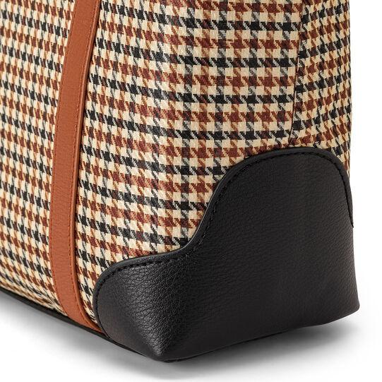 Koan houndstooth fabric handbag