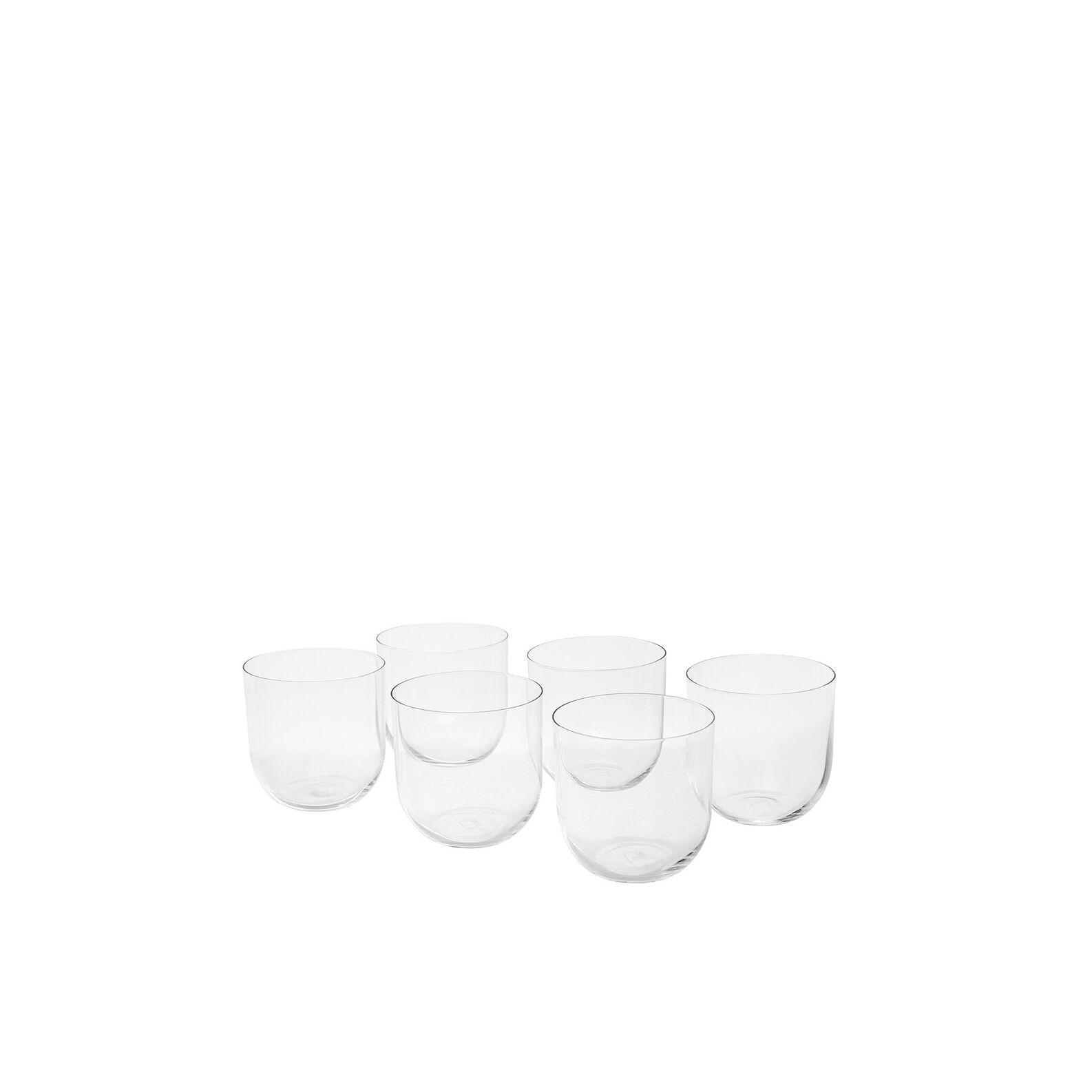Set of 6 Drop shot glasses