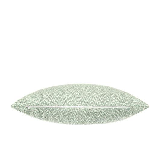 Cotton and viscose jacquard cushion (45x45cm)