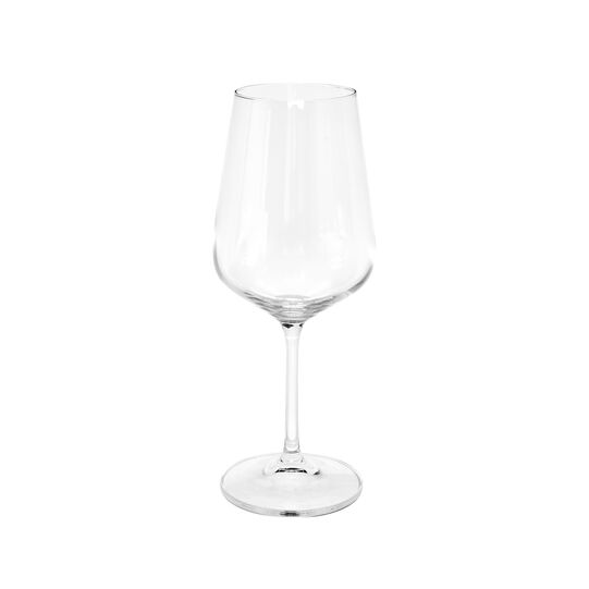 Set of 6 glass wine goblets 580 ml