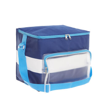 18L striped cooler bag