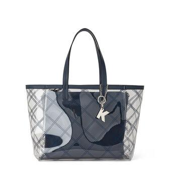 Koan transparent PVC shopping bag