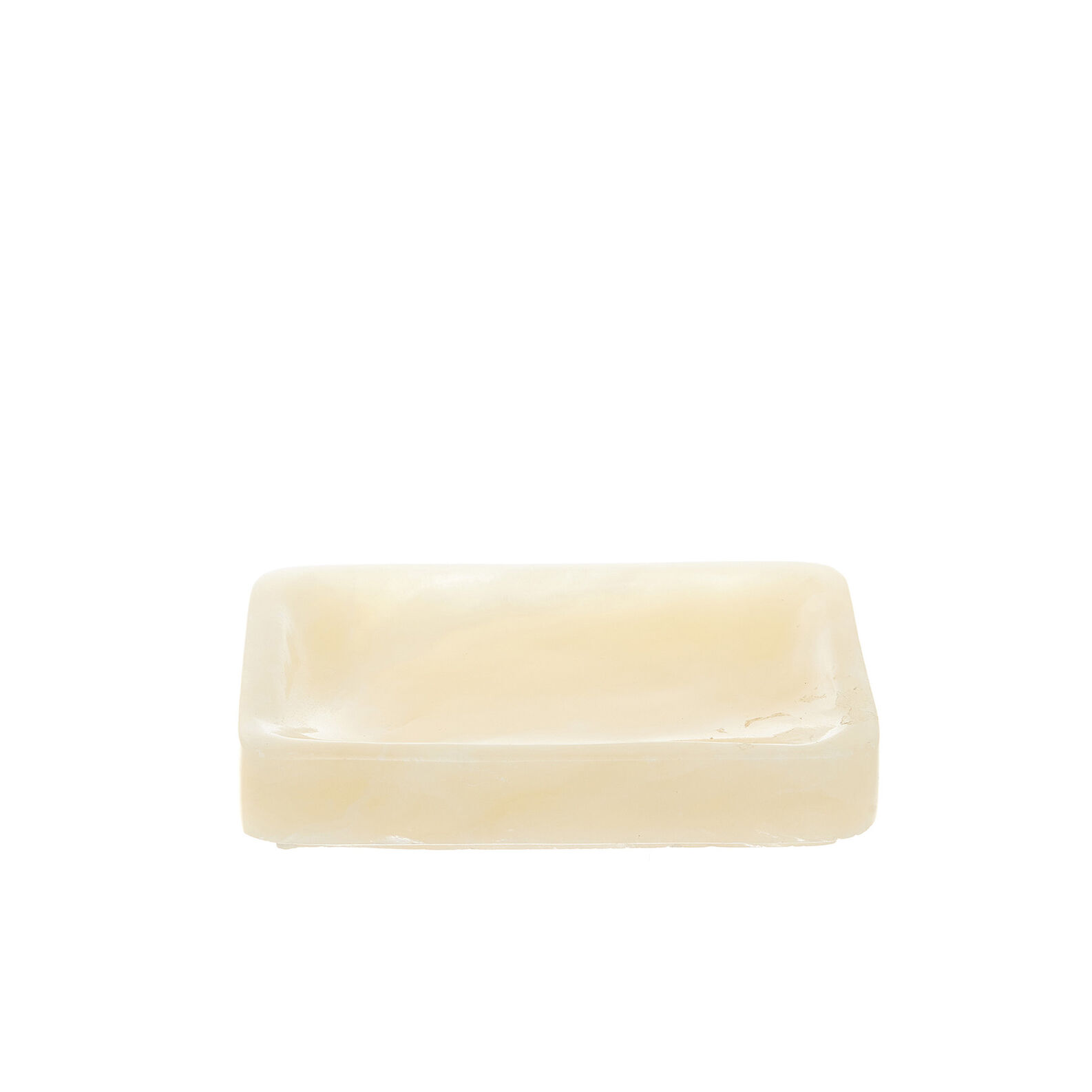 Solid handmade onyx soap dish