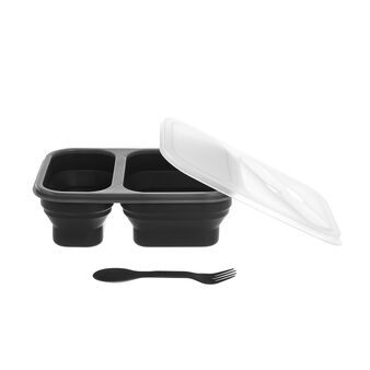 Silicon lunch box