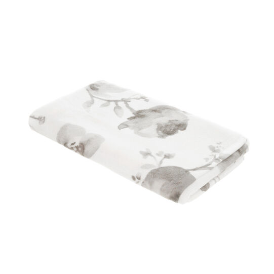 Portofino floral towel in 100% cotton terry