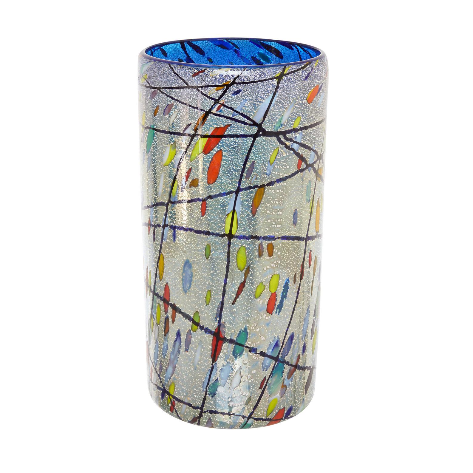Handmade Murano glass vase