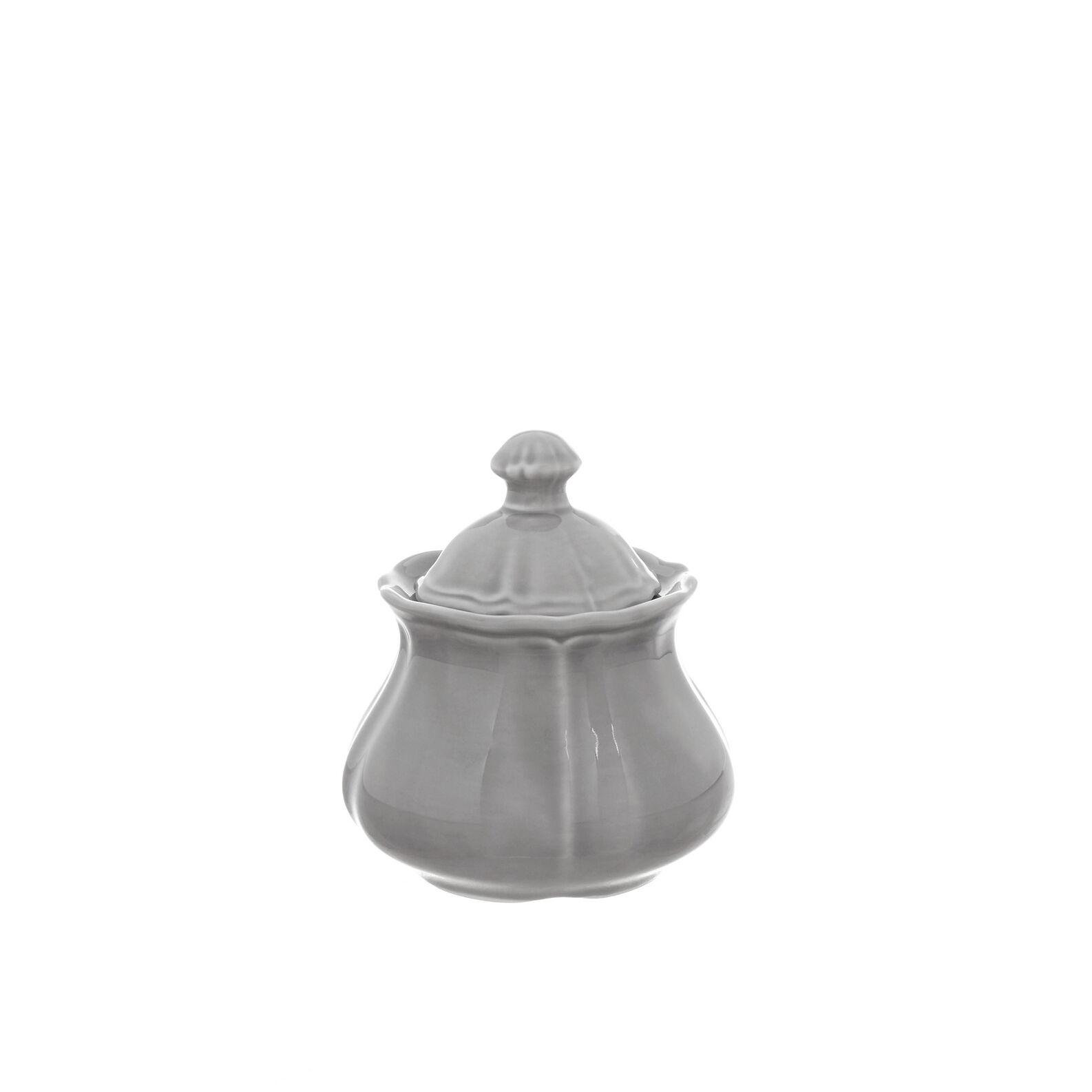 Romantic glazed china sugar bowl