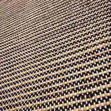 Kitchen mat in jute and cotton.