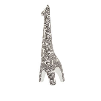 Hand-finished decorative giraffe