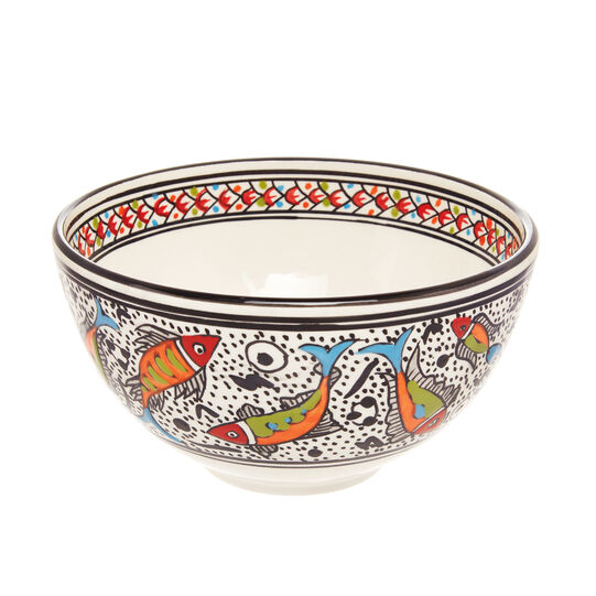 UNIDO handmade ceramic salad bowl