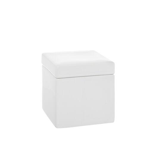 Quadra handmade ceramic cotton-pad holder