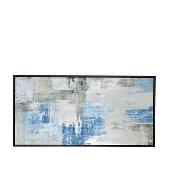 Tela con stampa a quadri