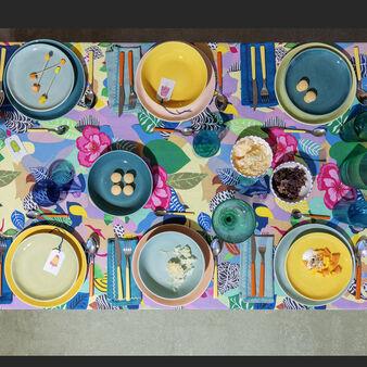 Set 18 piatti pastello