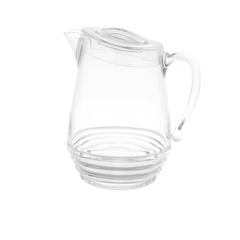 MS plastic carafe with lid