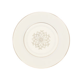 Plate in New Bone China with Morocco decoration