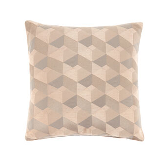 Jacquard diamond cushion 45x45cm