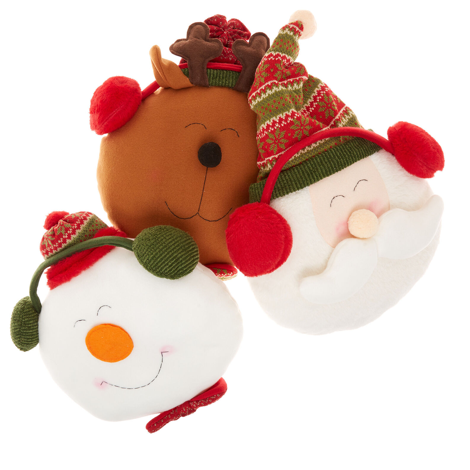 Decorative Christmas cushion