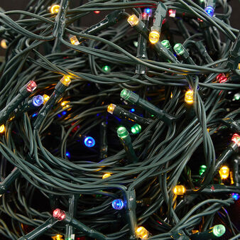 Multicoloured fairy lights with 360 LEDs