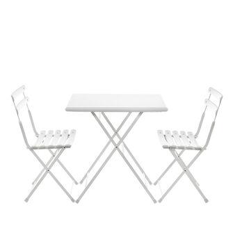 Set tavolo e 2 sedie pieghevoli Arc en Ciel