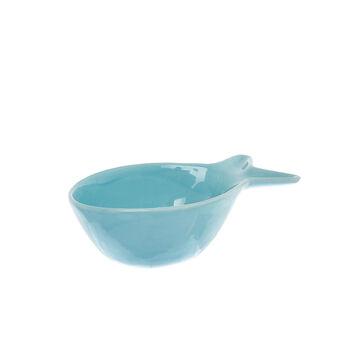 Small porcelain fish-shaped bowl