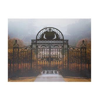 Secret garden photographic print canvas