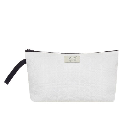 Cotton case with zip