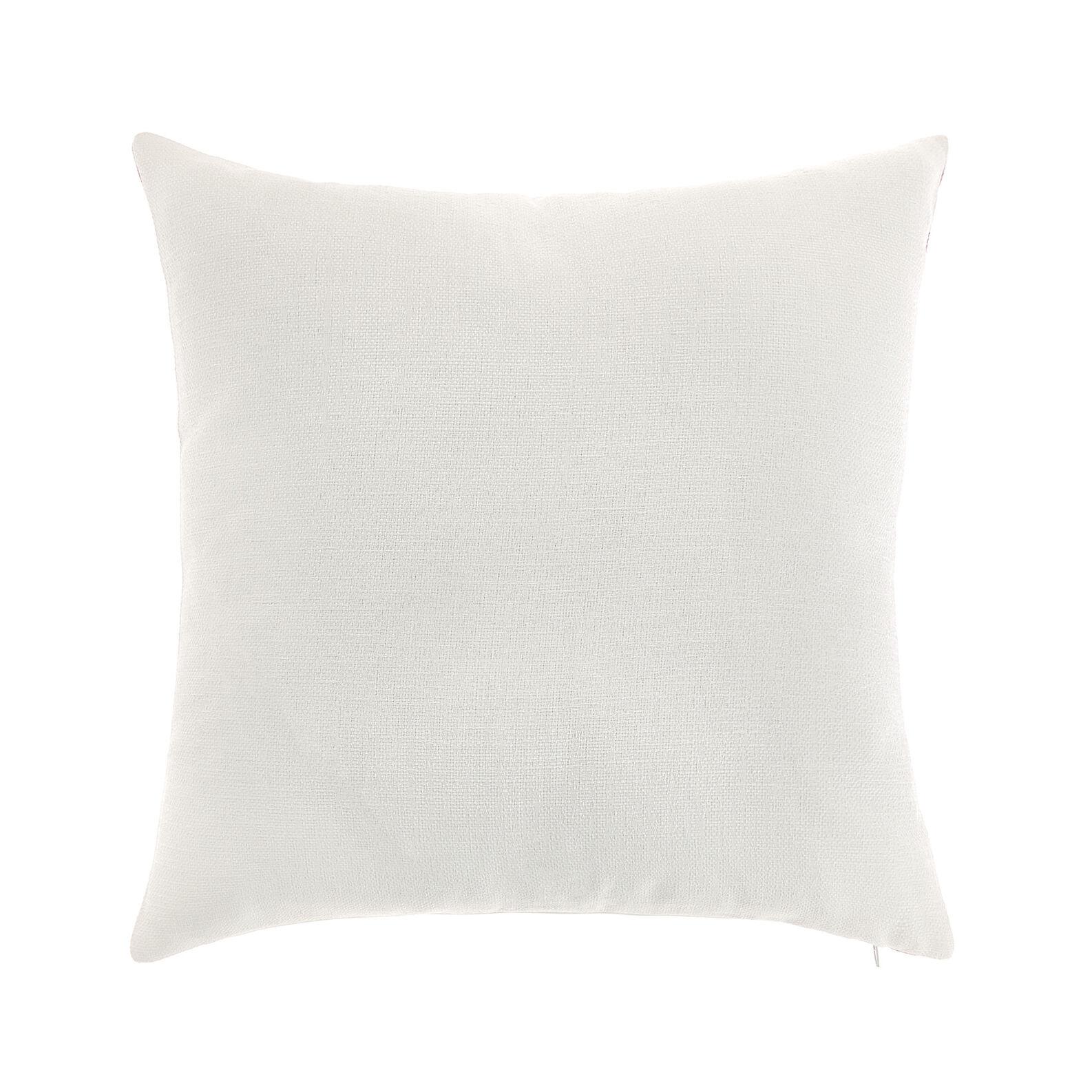 Cushion with digital flowers print