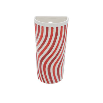 Striped ceramic humidifier for radiators