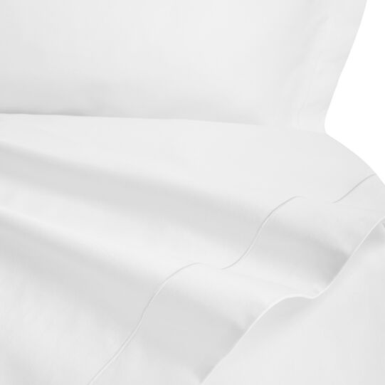 Duvet cover in TC400 satin cotton