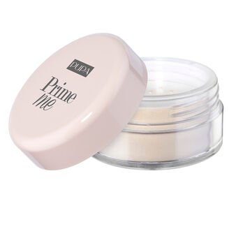 Pupa prime mesetting and mattifyng transparent powder