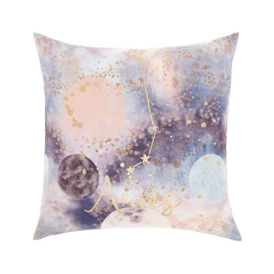 Cushion cover with Aries print 45x45cm