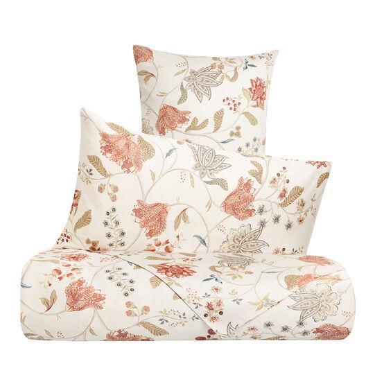 Parure lenzuola raso di cotone fantasia floreale