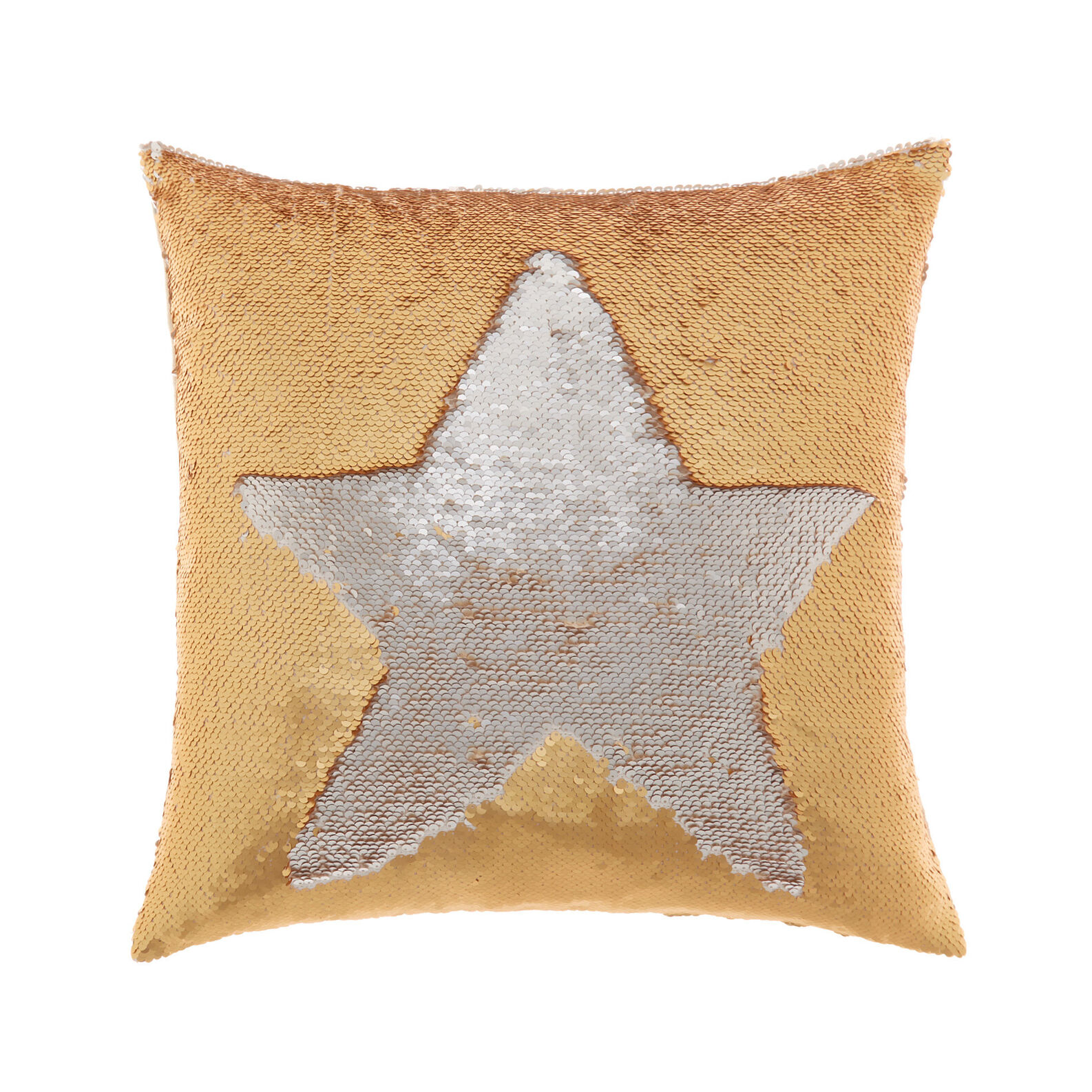 Cushion with sequins 45x45cm