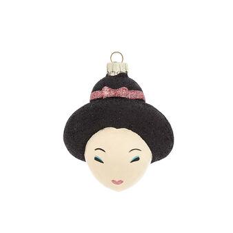 Addobbo geisha decorato a mano