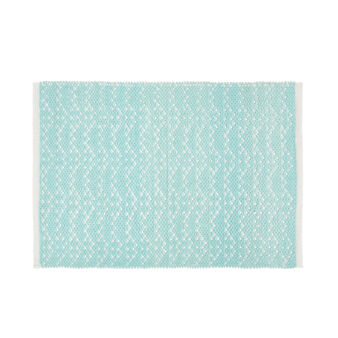 Cotton bath mat with design
