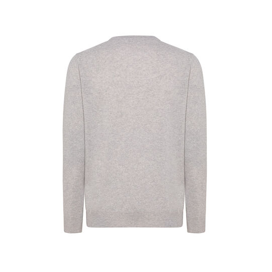 Pure wool crewneck pullover