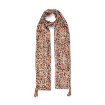 Koan tile print scarf