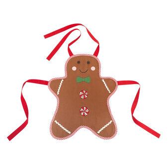 Grembiule da cucina bimbo/a puro cotone Gingerbread