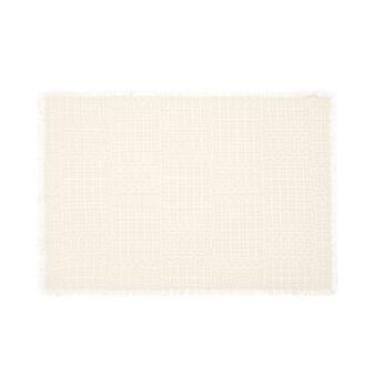 100% cotton woven bath mat