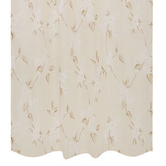 Curtain with small flower print